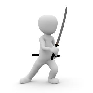 Ninja Fighter Sword